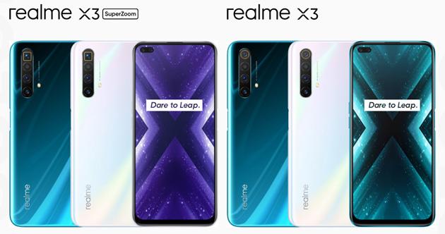 Realme X3 e X3 SuperZoom: Caratteristiche, Foto, Video e Prezzi in Italia