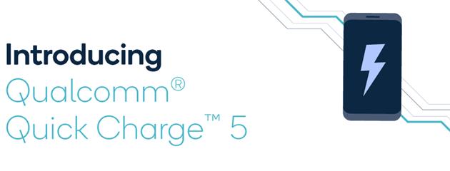 Qualcomm annuncia Quick Charge 5, ricarica rapida da 100W per smartphone
