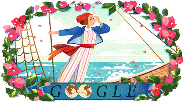280 anni fa nasceva Jeanne Baret, Google le dedica un doodle