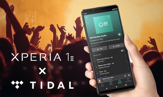 Sony Xperia 1 II regala 3 mesi di TIDAL HiFi