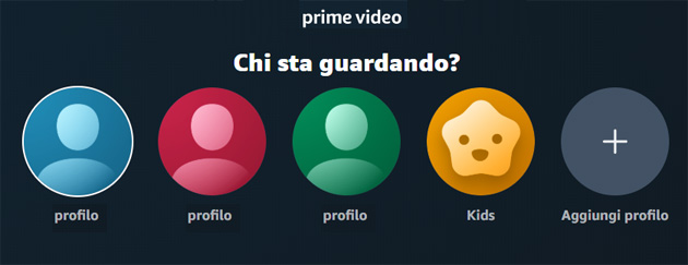 Arrivati i Profili su Amazon Prime Video: come crearli e gestirli