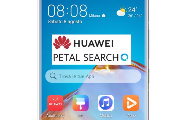 Huawei Petal Search, nuovo strumento di ricerca App, Notizie, Immagini e altro per device Huawei