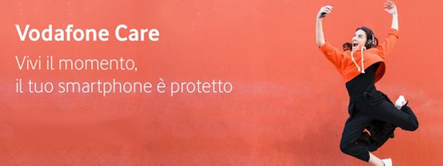 Vodafone Care, assicurazione che copre il telefono per danni accidentali o furto