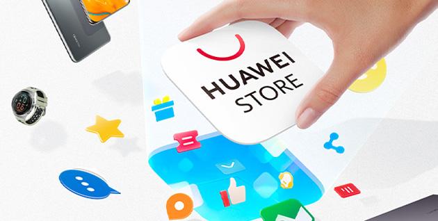 App Huawei Store disponibile, offre accesso rapido allo shop online e alla Community di Huawei