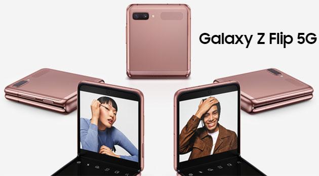 Samsung annuncia Galaxy Z Flip 5G con Snapdragon 865 Plus