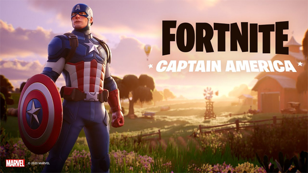Captain America in Fortnite