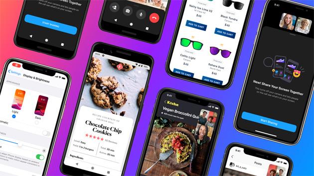 Messenger espande la condivisione dello schermo su iOS e Android
