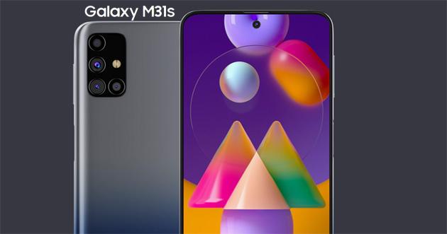 Samsung Galaxy M31s, smartphone economico con ricarica veloce da 25W