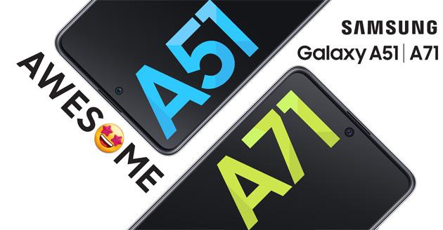 Su Galaxy A51 e A71 da Galaxy S20 Samsung porta queste funzioni
