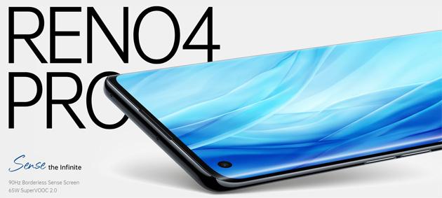 Oppo Reno4 Pro ufficiale con display Amoled 6.5 90Hz, batteria 4000mAh, chipset Snapdragon 720G, 8GB RAM, camera principale da 48MP