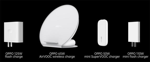 Oppo annuncia ricarica flash da 125W e nuova linea di caricatori per la ricarica rapida
