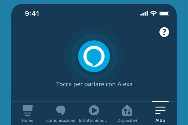 Amazon migliora la app Alexa con nuova schermata iniziale e accesso rapido al menu secondario