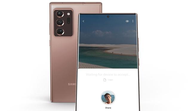 Punta per Condividere: Samsung combina la rilevazione spaziale UWB con Nearby Share di Android per semplificare la condivisione di file