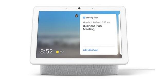 Zoom sugli smart display con l'Assistente Google da fine anno