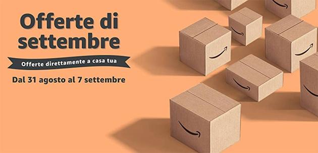 Amazon lancia le offerte di Settembre, scontati anche smartphone Samsung e Apple