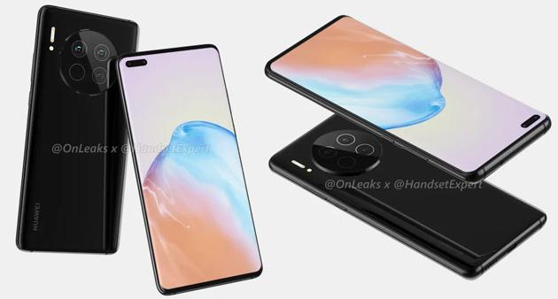 Huawei Mate40, primi render del presunto smartphone