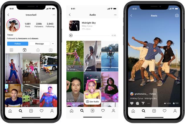 Instagram Reels per creare e scoprire video brevi e personalizzati stile TikTok come funziona