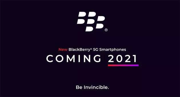 Nuovo telefono BlackBerry 5G con Android e tastiera fisica nel 2021 da OnwardMobility