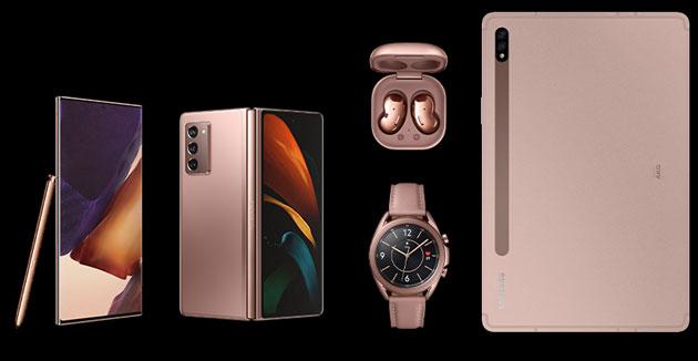 Galaxy Unpacked 2020: Note20, Z Fold2, Watch3, Buds Live e Tab S7 - tutte le novita' Samsung, cosa arriva in Italia e a quali prezzi