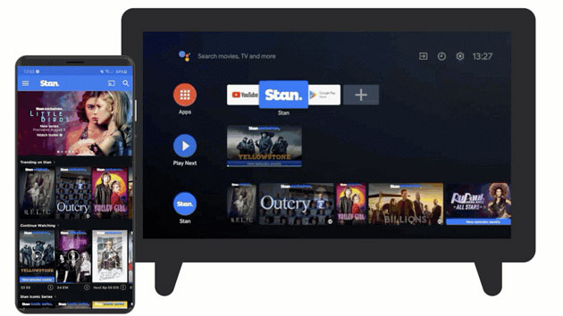 Cast Connect integra Google Cast direttamente nelle app su Android TV
