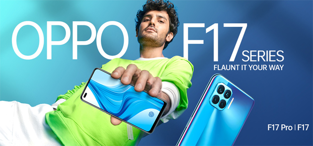 Oppo F17 Pro ufficiale con 6 fotocamere, presentato anche Oppo F17