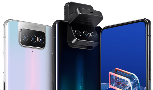 Foto Asus Zenfone 7 e 7 Pro con Flip Camera rotante e display Amoled a 90Hz in Italia da 699 euro