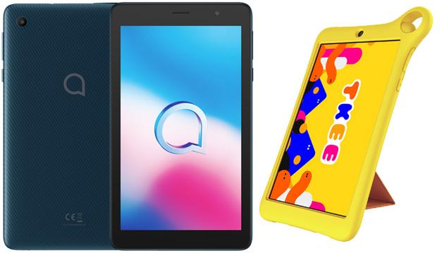 I nuovi tablet Alcatel TKEE MID, 1T 7, 3T 8, 1T 10 e 3T 10 in Italia da fine 2020