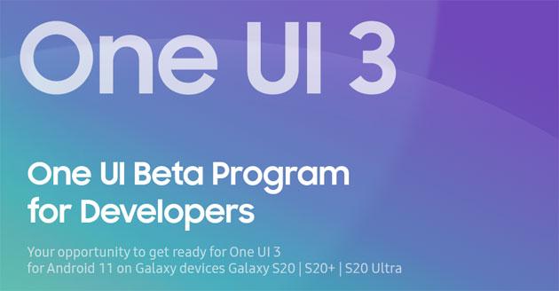 Samsung lancia il programma per testare Android 11 su One UI 3.0 su Galaxy S20