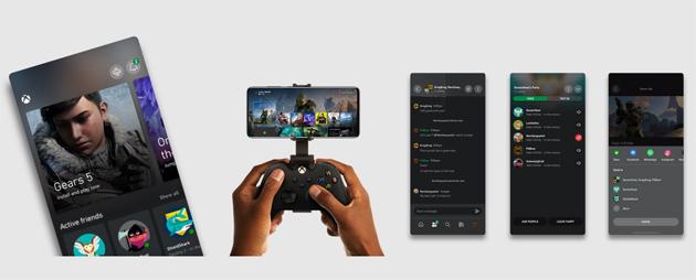 Nuova app Xbox per Android e iOS con riproduzione remota dei giochi dalla console in streaming