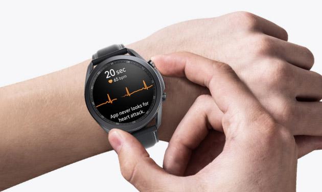 Samsung Health Monitor in Italia per misurare ECG e Pressione Sanguigna con Galaxy Watch3 e Watch Active2