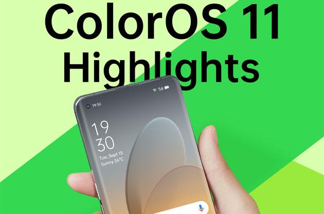 Oppo ColorOS 11 basato su Android 11 ufficiale: tutte le Novita' (con Foto)