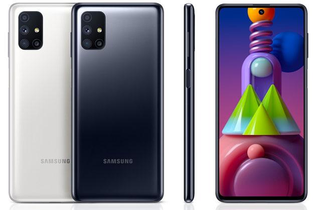 Samsung Galaxy M51 con batteria 7000mAh, multi-camera, 6GB di RAM ufficiale in Italia