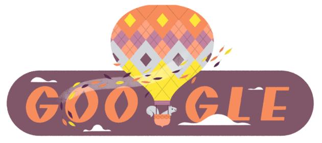 Google Doodle al Primo Giorno di Autunno 2020
