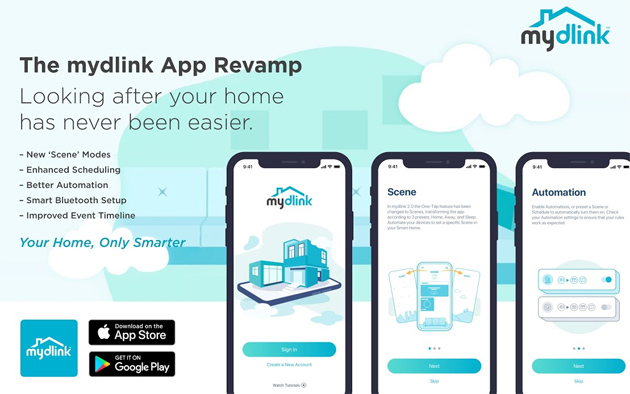 App MyDlink rinnovata per semplificare la gestione dei prodotti della smart home