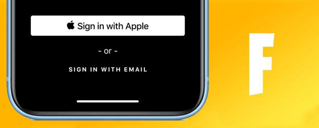 Accedi con Apple continua a funzionare per Epic Games (Fortnite) ma vediamo come tutelarsi ad eventuali cambiamenti futuri