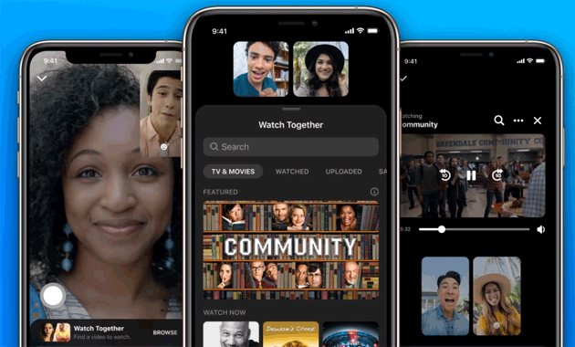Foto Facebook lancia Watch Together in Messenger per guardare video con gli amici a distanza nello stesso momento