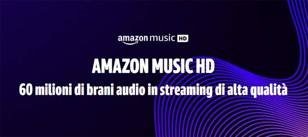 Amazon Music HD debutta in Italia con 3 mesi di uso gratuito