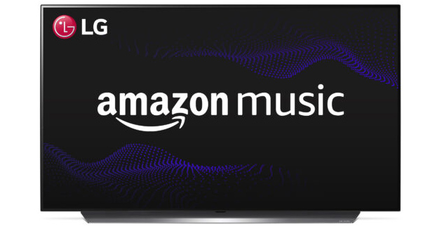 Foto Amazon Music su TV LG ora disponibile con app ufficiale