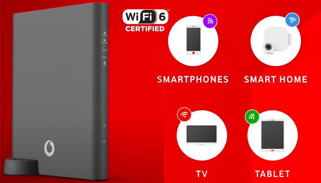 Vodafone lancia Wifi 6 Station e nuove Offerte di Rete Fissa