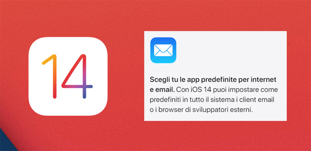 Foto Apple, come cambiare browser web o app di posta elettronica predefinite su iPhone, iPad o iPod touch