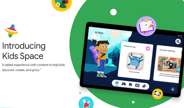 Google presenta Kids Space, esperienza su tablet Android con contenuti per bambini