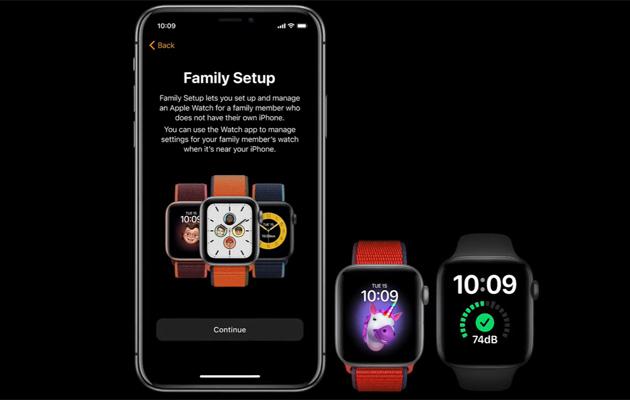 Apple con Family Setup consente di gestire tutti gli Apple Watch in famiglia da un solo iPhone