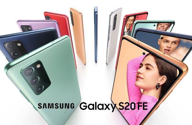 Samsung Galaxy S20 FE 5G ufficiale: Caratteristiche, Foto, Video e Prezzi in Italia