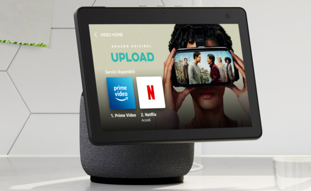 Foto Netflix sui display intelligenti Amazon Echo Show entro fine anno