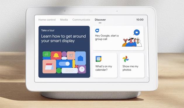 Tema Scuro, sveglia che simula l'Alba e altre novita' per gli smart display con l'Assistente Google