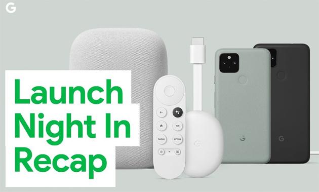 Google, Evento 'Launch Night In': annunciati Pixel 4a 5G, Pixel 5, Chromecast con Google TV e Nest Audio