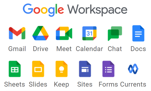 G Suite diventa Google Workspace con nuovi loghi per Gmail, Documenti, Meet, Fogli e Calendario
