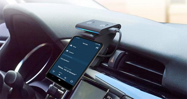 La Modalita' Auto di Alexa trasforma lo smartphone in display per Echo Auto