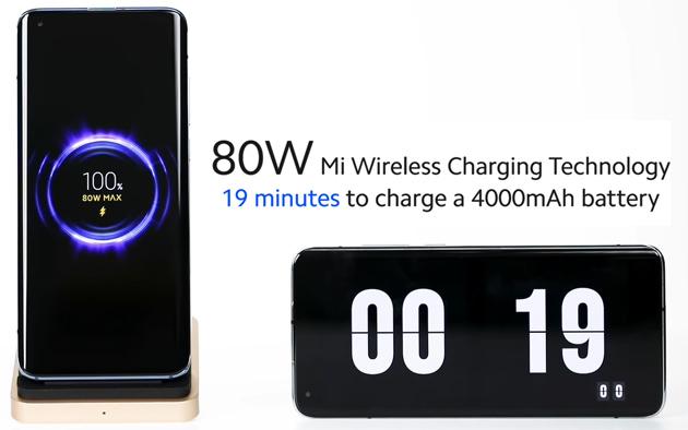 Xiaomi lavora su ricarica veloce wireless a 80W