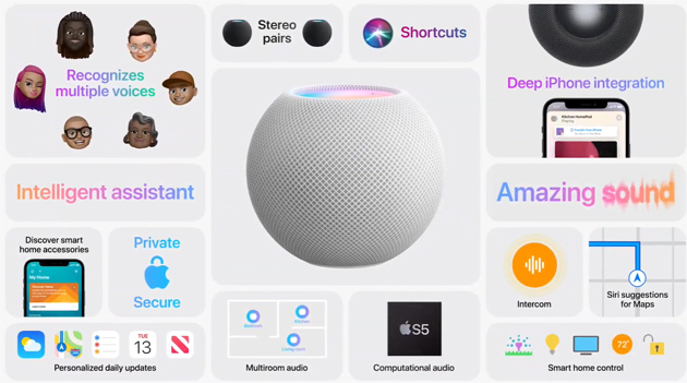 Apple HomePod Mini, ufficiale il secondo smart speaker di Apple